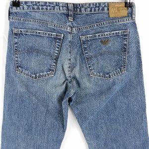 Armani Straight Leg Jeans 28x32